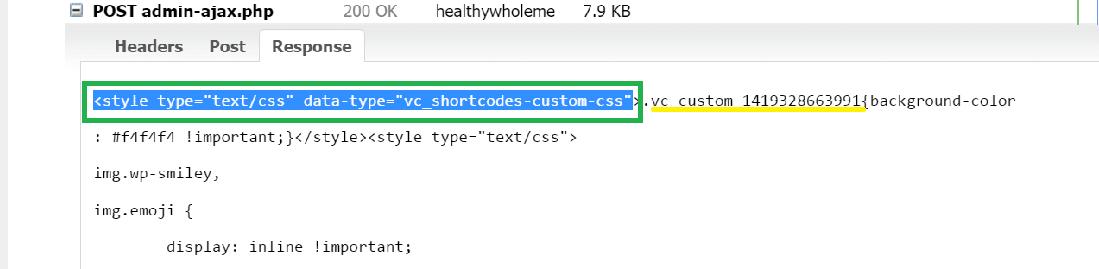 برررسی response در gtmetrix برای بررسی مصرف بالای منابع توسط ajax-admin.php